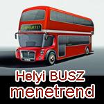 helyi buszmenetrend