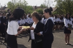 Ballagás a város középiskoláiban